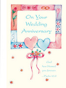 Greeting Cards(6): Wedding Anniversary(CDW6055)