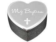 Baptism Gift: Silver Trinket Box(PLB6060)