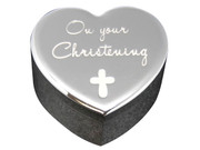 Christening Gift: Silver Trinket Box(PLB6059)