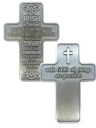 Pocket Cross: Irish Blessing(CR20069)