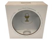 Communion Gift: Wooden Money Box(PLC5058)