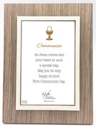 Communion Gift: Photo Frame Natural(PLC5080)