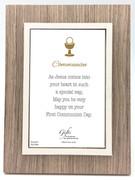 Communion Gift: Photo Frame Natural(PLC5080)