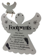Angel Plaque: Footprints (PL8073)