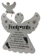 Angel Plaque: Footprints (PL8073)