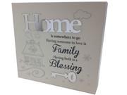Plaque: Home (WB7330)