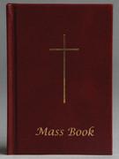 Hard Cover Missal: Mass Book in Burgandy(BK4211)