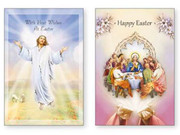Greeting Cards: Easter Jesus(pack 12)(CDE85648)