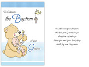 Card (each): Baptism Godson (CD13224e)