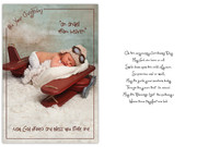 Packet Cards (6): Christening Boy (CD13222)