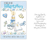 Card (each): Baptism Blue (CD13212e)
