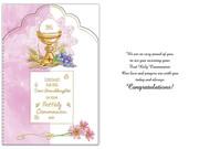 Communion Cards (each): Granddaughter(CD13306e)