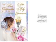 Communion Card(each): Goddaughter(CD13308e)
