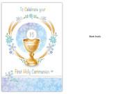 Communion Card (each): Symbols BLANK inside(CD13311e)