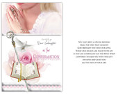 Confirmation Card(each): Goddaughter(CD13410e)