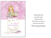 Confirmation Card(each): Granddaughter(CD13404e)