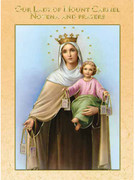 Novena Prayer Book: Our Lady of Mt Carmel