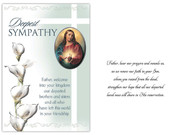 Sympathy Card(6): Sacred Heart Jesus(CD13600)