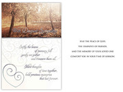 Sympathy Card(6): Trees (CD13604)