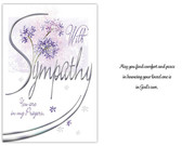 Sympathy Card(6): With Sympathy (CD13606)