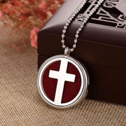Oil Diffuser Necklace: Cross (JE2200C)