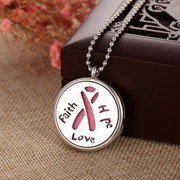 Oil Diffuser Necklace: Faith Hope Love (JE2200F)