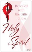 Holy Cards (pkt100): Holy Spirit (HCF001)