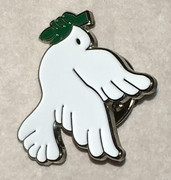 Confirmation Pin White Dove (LPF0235)