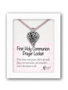 Communion Gift Prayer Locket and Cord (PL00001)