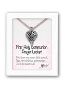 Communion Gift Prayer Locket and Cord (PL00001)