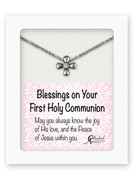 Communion Gift Cross and Chain (PL00001)