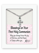Communion Gift Cross and Chain (PL315)