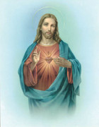 Poster Print: Sacred Heart of Jesus #2(PI10X801B)