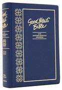 Bible: Good News Catholic Edition BLUE (Vinyl cover)