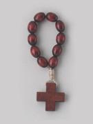 Rosary Ring/Finger Rosary: Wooden (RR102FR)