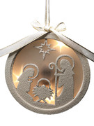 LED Nativity Scene Ornament 12cm(NST10130)