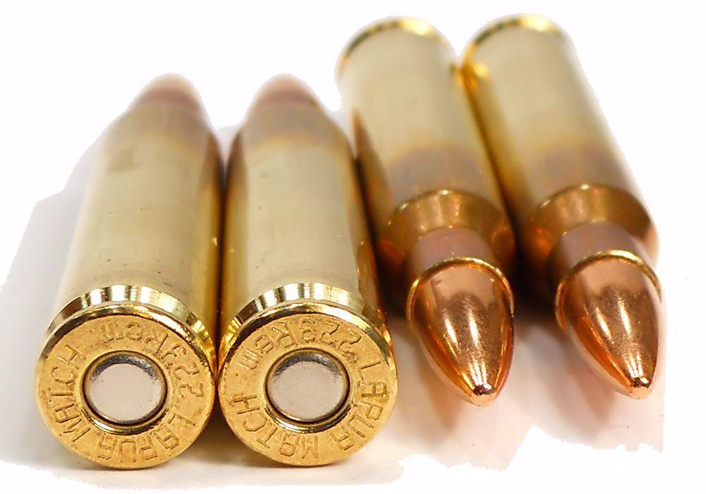 Lapua 223 5.56x45 Ammuition 55gr FMJ Bullets - 50 Round Box