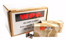 9mm Wolf ammo 500 round case