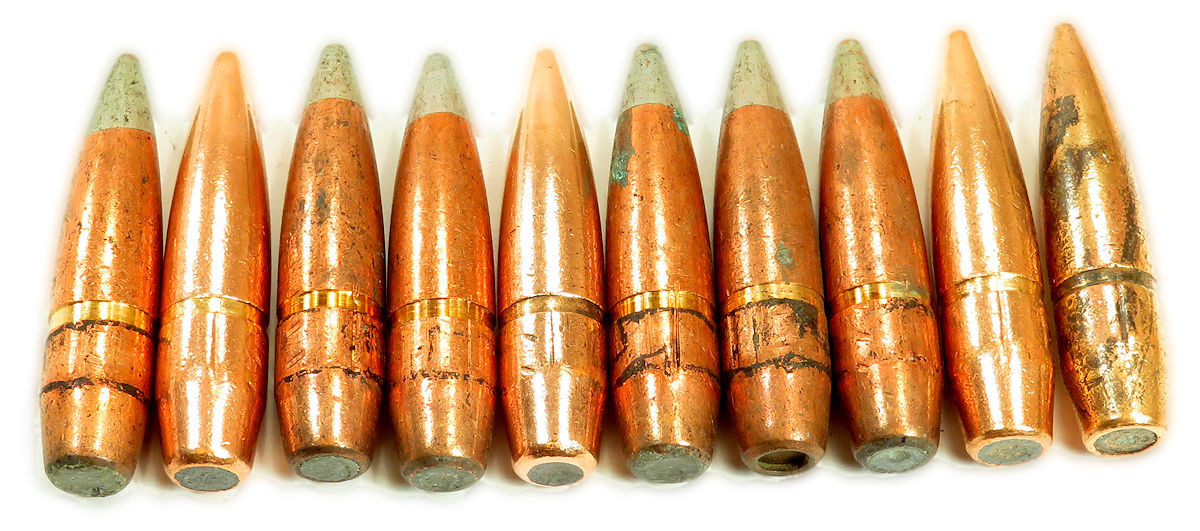 50 BMG M8 639gr API Projectiles 500pc Can