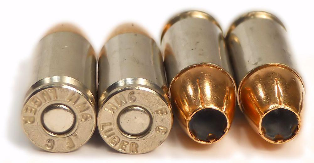 9mm 9x19 Ammo 124gr HST JHP Federal Premium (P9HST1) 50 Round Box
