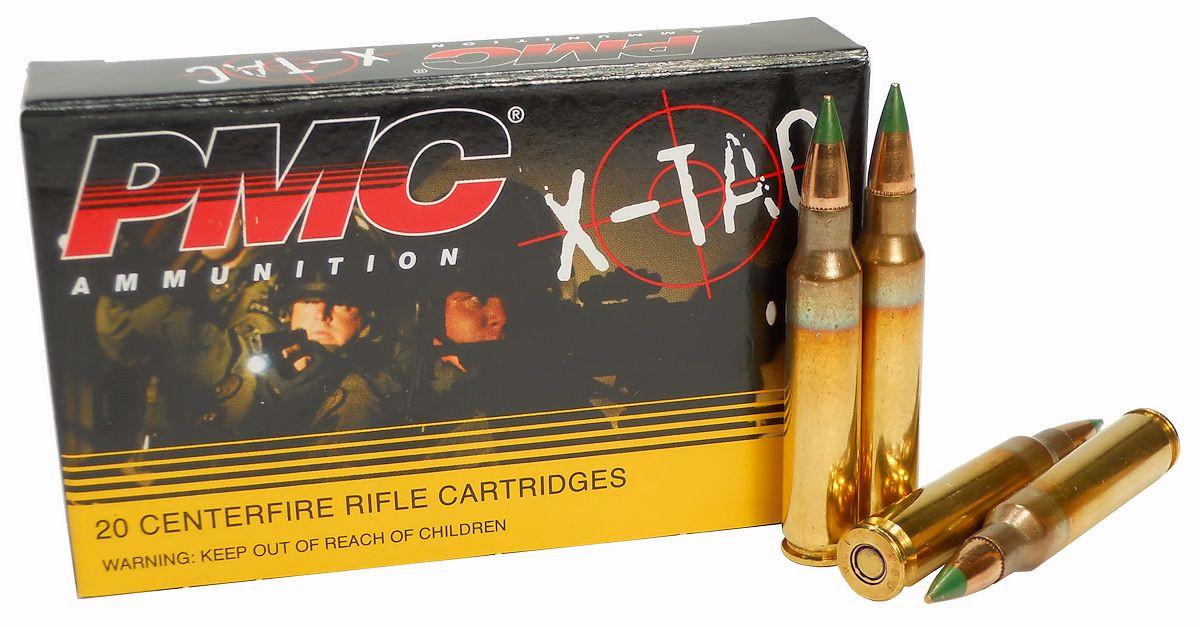 5 56x45 Ammo 62gr Green Tip M855 PMC X-TAC (5 56K) 20 Round Box