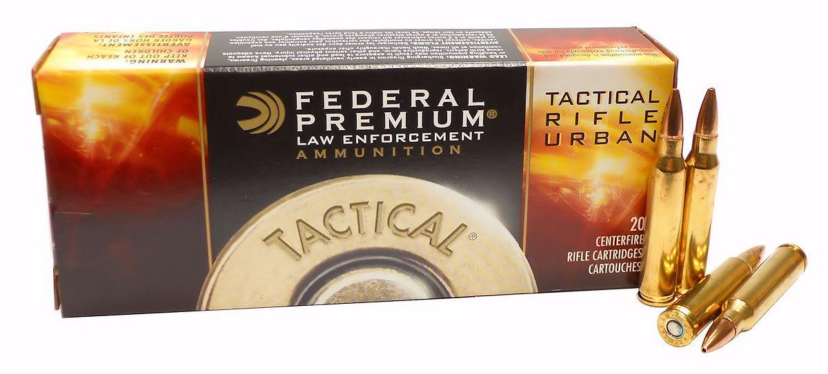 223 5 56x45 Ammo 55gr Sierra GameKing Federal Tactical Rifle Urban TRU  (T223E) 20 Round Box