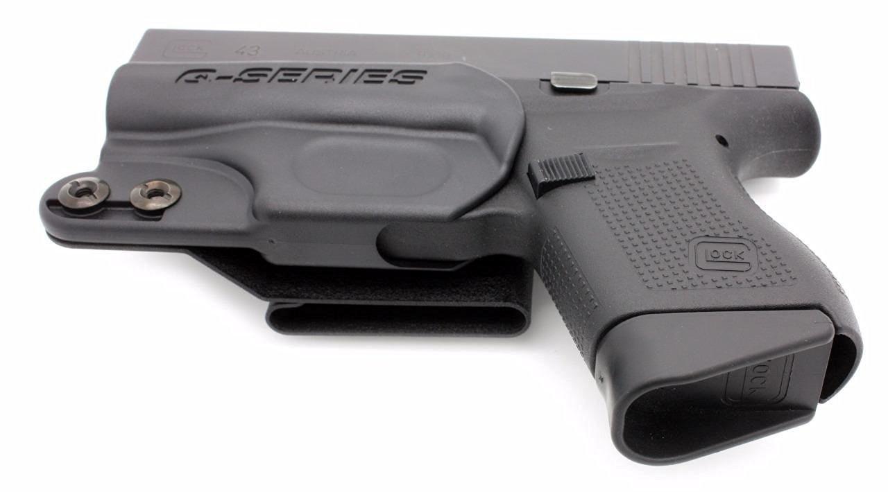 Q-Series Stealth IWB Holster, Ambidextrous - Glock 42, 43