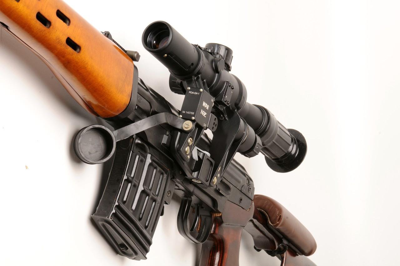 WPA PO 4x24-1 Military Classic Optic, SVD/Tigr, PSL, M76 Mount