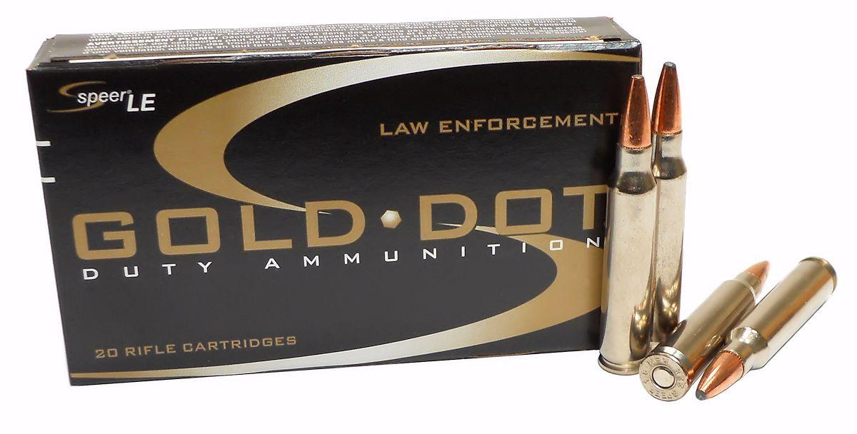 223 5 56x45 Ammo 75gr GDSP Speer Gold Dot (24475) 20 Round Box