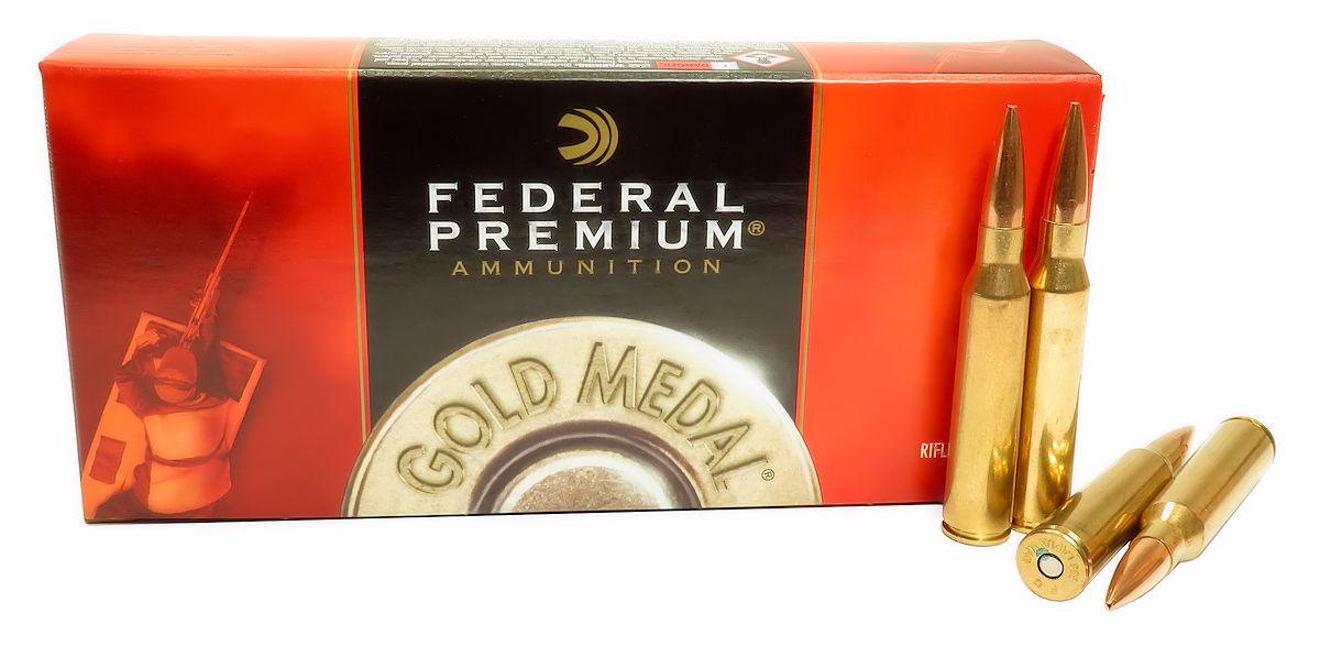 338 Lapua Magnum Ammo 300gr OTM Federal Sierra Matchking (GM338LM2) 20  Round Box