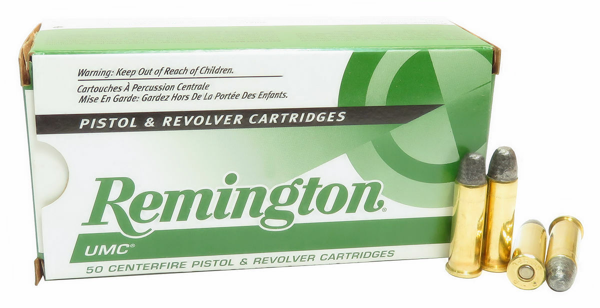 38 Special Ammo 158gr Lead Round Nose Remington UMC (L38S5) 50 Round Box
