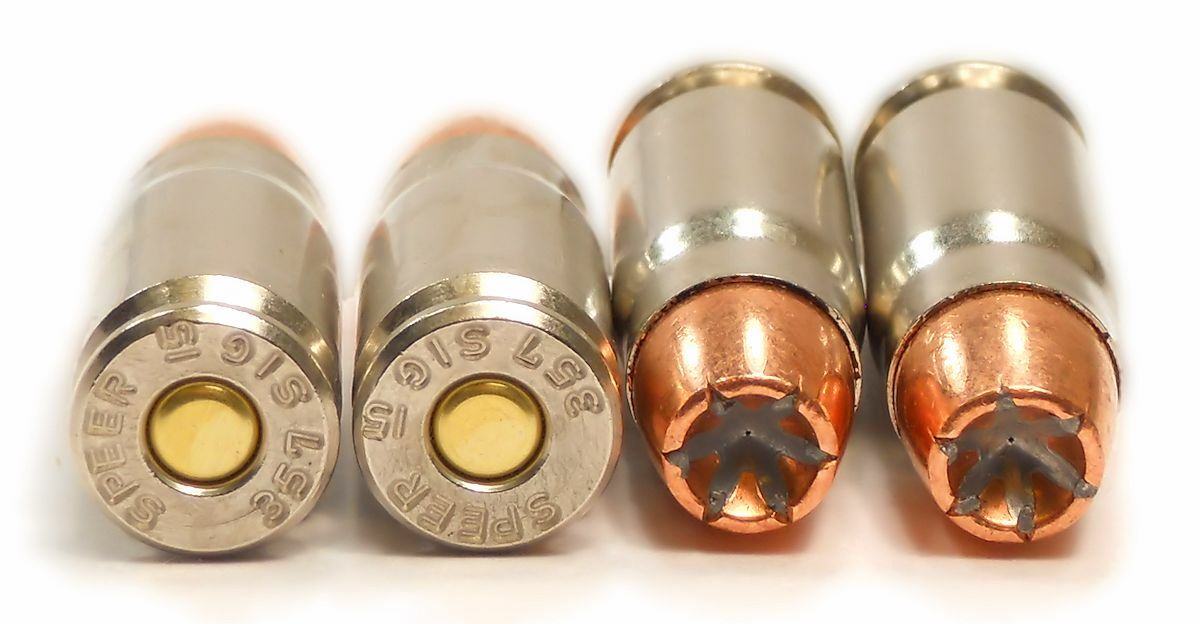 357 SIG Ammo 125gr GDHP Speer Gold Dot (53918) 50 Round Box