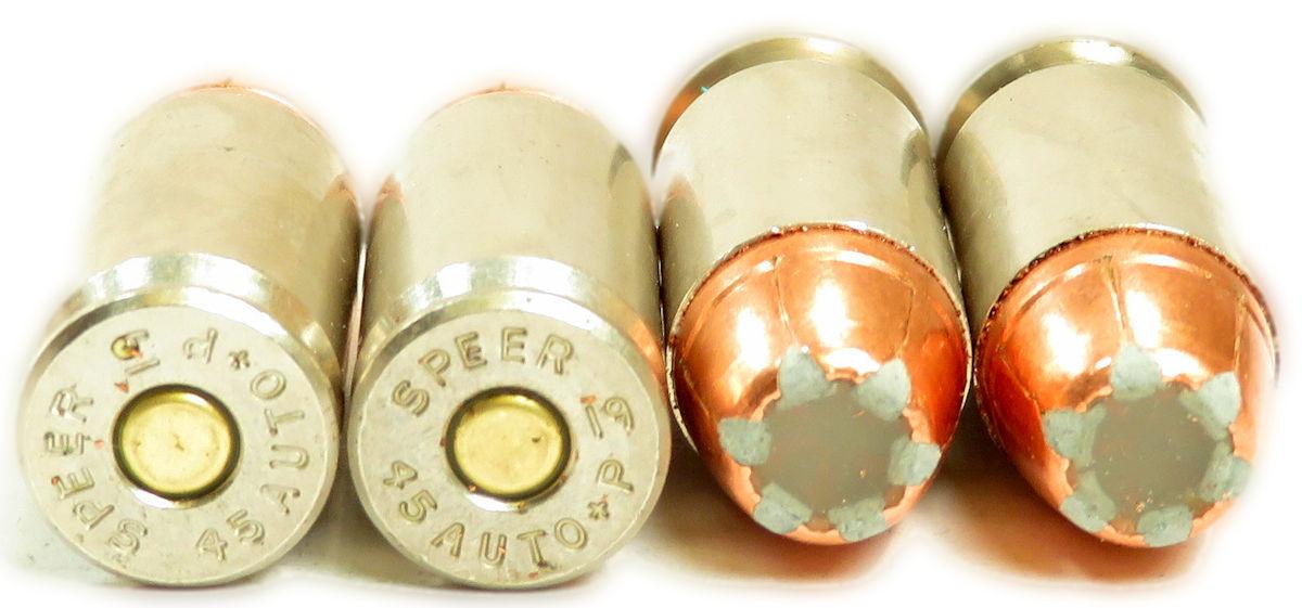 45 ACP Ammo 230gr +P GDHP Speer Gold Dot G2 (54256) 50 Round Box