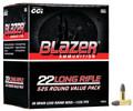 22LR Ammo 38gr LRN Blazer (10022) 525 Round Box